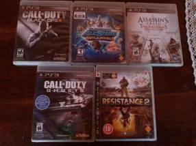 5 juegos para Play 3
