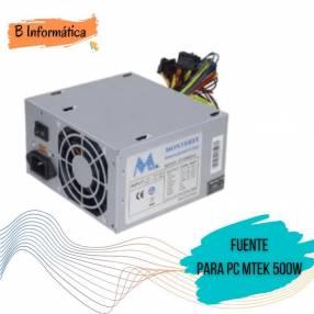 Fuente de alimentación para PC MTEK 500W