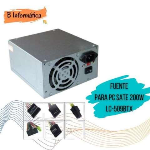 Fuente de alimentación para PC Sate 200W