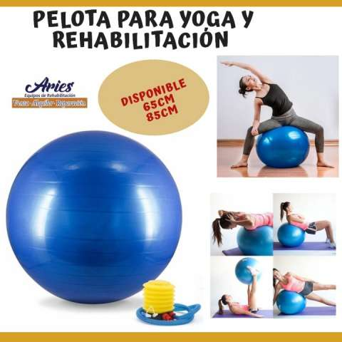 Pelota para Yoga y Rehabilitación
