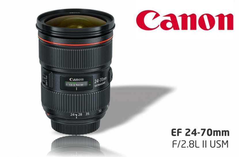 Lente Canon EF 24-70mm f/2.8L II USM - 0