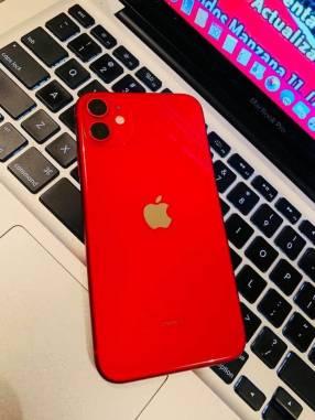 iPhone 11 rojo 64 gb