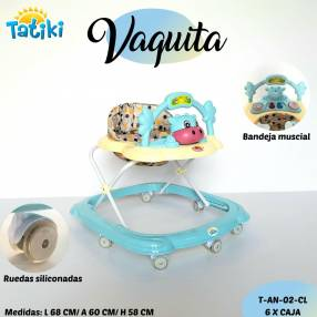 Andadores Vaquita de Tatiki