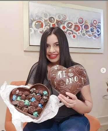 Corazón gigante de chocolate - 0