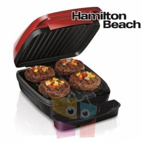 - Grill Electrico - Hamilton Beach - Rojo