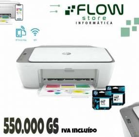 Impresora HP 2775 wifi, imprima desde su móvil,