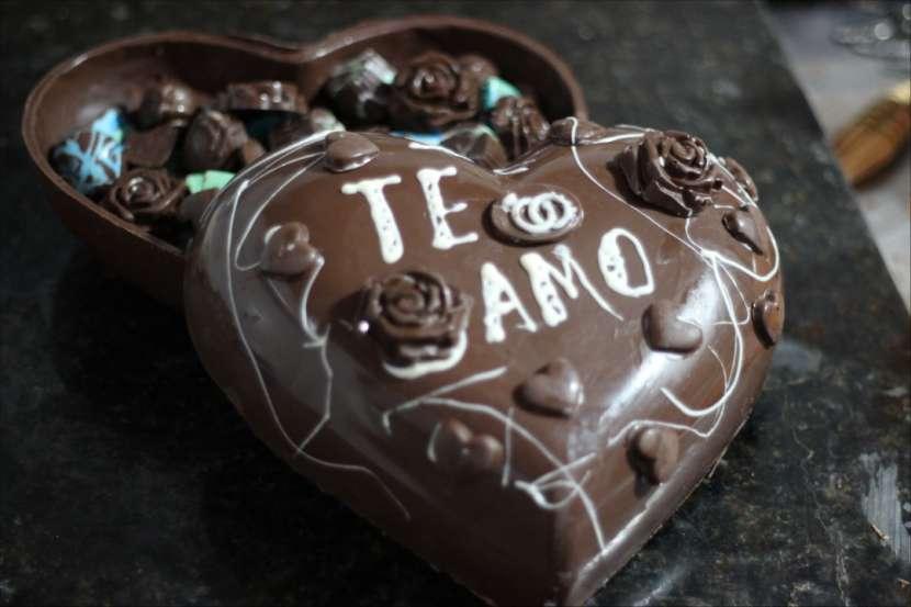 Corazón gigante de chocolate - 2