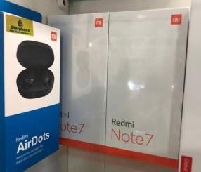 Xiaomi Redmi Note 7 de 128 gb con Airdots