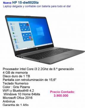 HP Notebook Core i3/4Gb/1TB/15