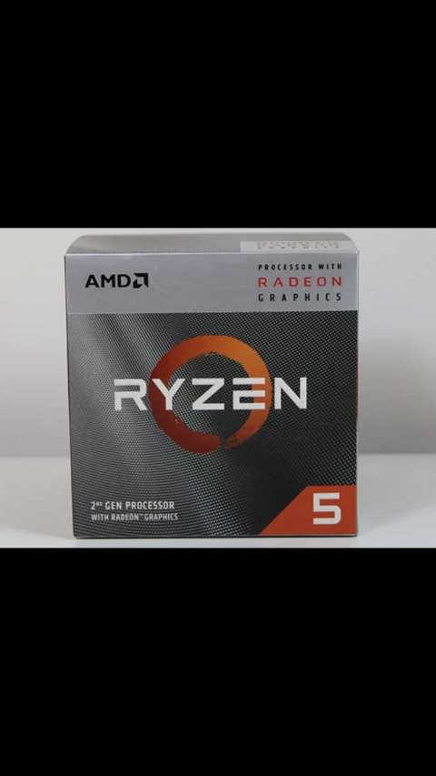 Procesador amd am4 ryzen 5 3400g