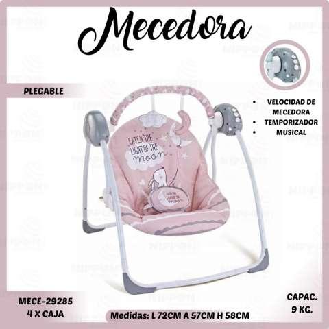 Mecedora para bebé automática musical