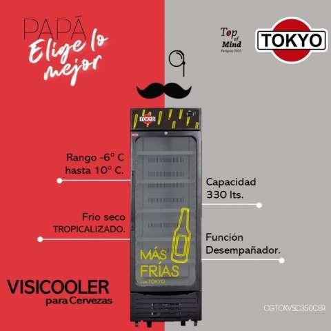 Visicooler Tokyo para bebida bajo 0