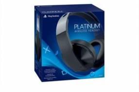 Auricular Sony PS4 Serie Platinum CECHYA-0090