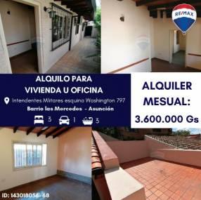 Casa en barrio Las Mercedes