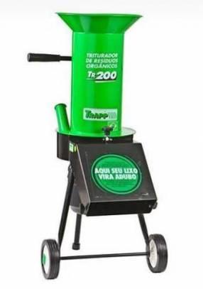 Triturador trapp tr 200 de residuos orgánicos