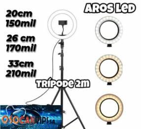 Aro LED con soporte