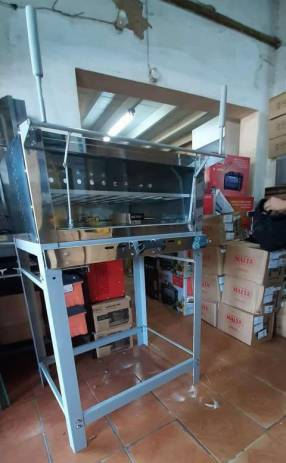 Horno pizzero 70x60 a gas Matvisa