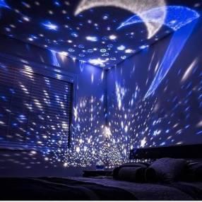 Proyector de estrellas y luna