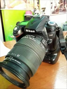 Cámara Nikon D90 Profesional