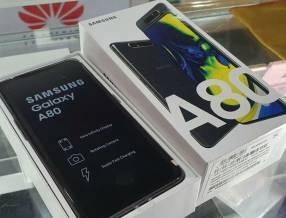 Samsung Galaxy A80 nuevo + protector ANTISHOK y POPSOCKETS
