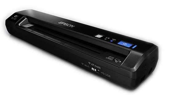 Escáner Epson WorkForce DS-40 Color Portátil - 0