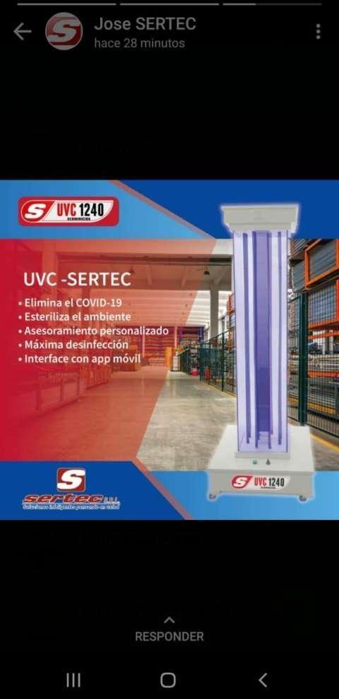 Esterilizador UVC - 0
