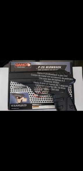 Gamo p25 blowback a gas