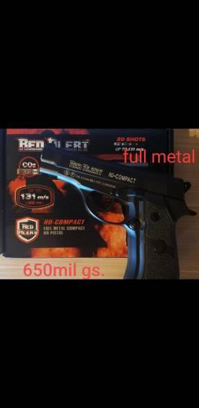 Pistola full metal aire comprimido