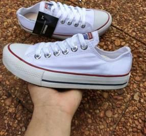 Calzado Converse color blanco
