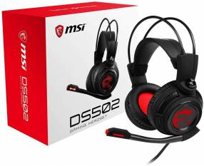 Auricular Gaming MSI DS502 USB 7.1