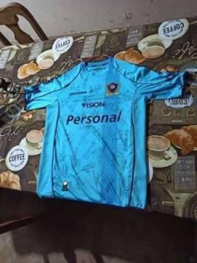 Camiseta autografiada de Cerro Porteño campeón del clausura 2017