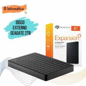 Disco externo portátil Seagate 2tb