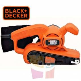 Lijadora de Banda 76 x 457mm 680W Black+Decker BR318