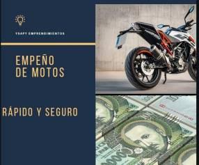 Empeño de motos