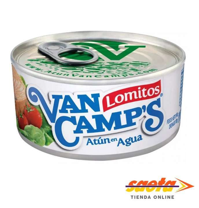 Atún Van Camp´s en agua lata 140 gramos - 0