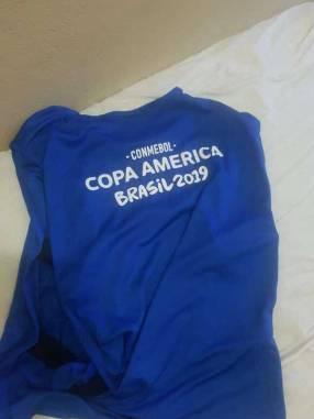 Chaleco de entrenamiento Copa América talle M