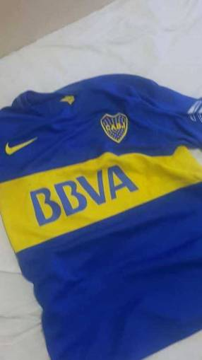Remera de Boca Junior talle M
