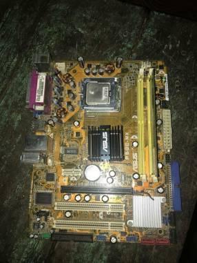 Placa con procesador y RAM 1 de gb