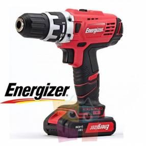 Taladro atornillador inalámbrico 13mm - 18V - Energizer - EZ
