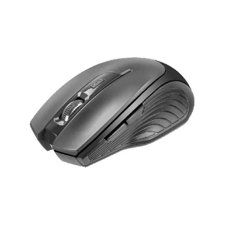 Mouse Klip Vortex inalámbrico 1600dpi/3D 6 botones negro - 0