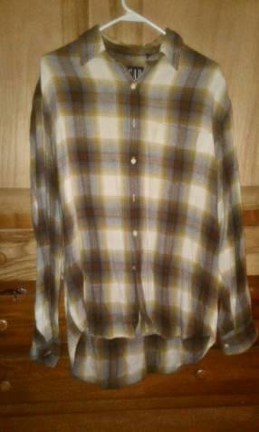 Camisa para hombre estilo leñador marca gap