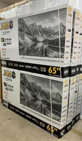 Smart TV JAM JA55SUHD605 UHD de 55 pulgadas
