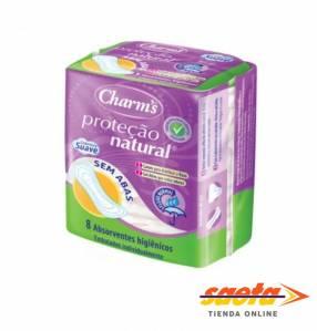Absorbente higiénico charms protector natural