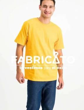 Remeras Personalizadas color Amarillo