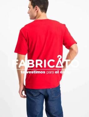 Remeras Personalizadas color Rojo