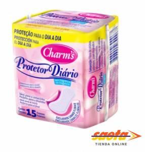 Protector diario charms x 15 unidades