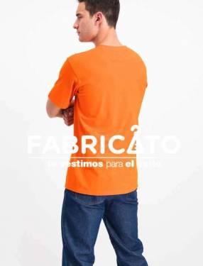 Remeras Personalizadas color Naranja