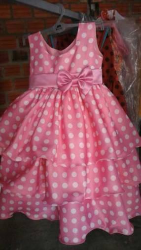 Vestido motivo Minnie para 2 hasta 4 años