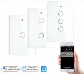 Interruptor Inteligente 3 Botones + Tuya Smart app