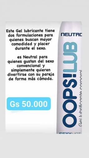 OOPS!LUB gel lubricante